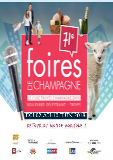 Foires de Champagne 2018