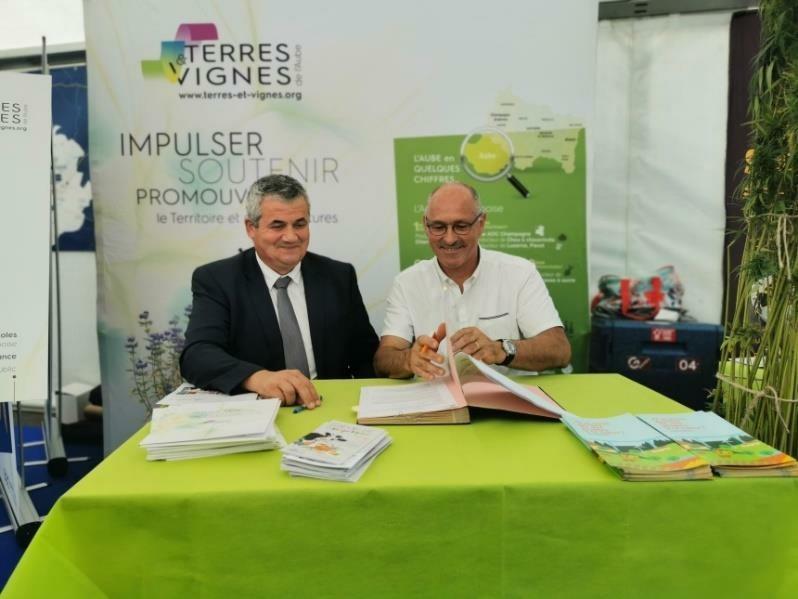 Signature Safer-Terres-et-Vignes partenariat